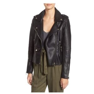 BlankNYC 'Easy Rider' Vegan Leather Moto Jacket